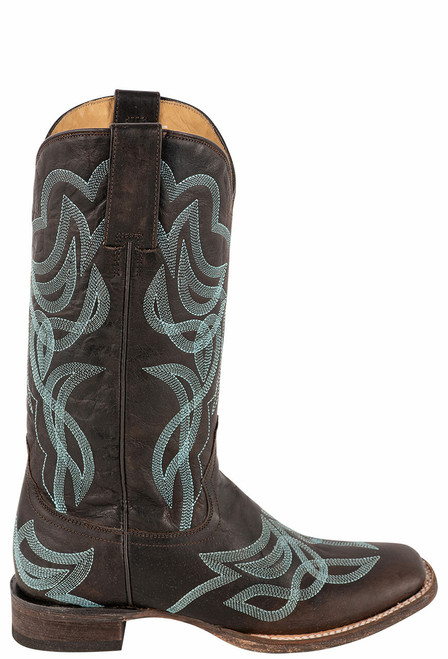 Stetson Women's Reese Brown Embroidered Boots