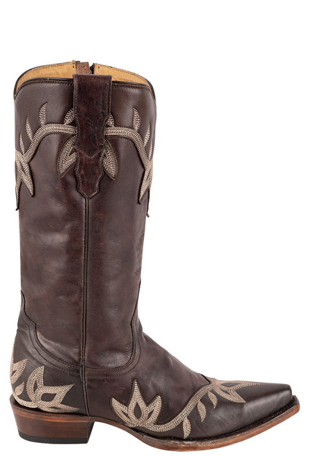 Stetson Women's Darcy Brown Embroidered Boots