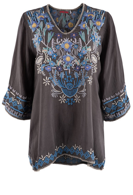 Johnny Was Winkle Blouse - Front