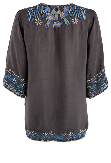 Johnny Was Winkle Blouse - Back
