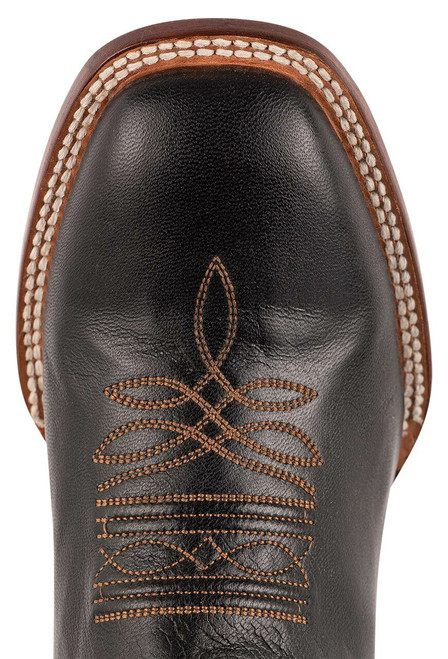 Stetson Men's Altan Black and Brown Goat Boots - Toe