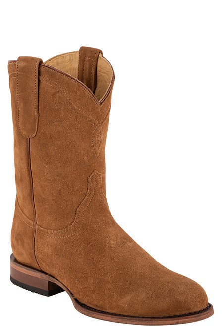 Stetson Men's Dusty Bluff Tan Water Resistant Suede Boots