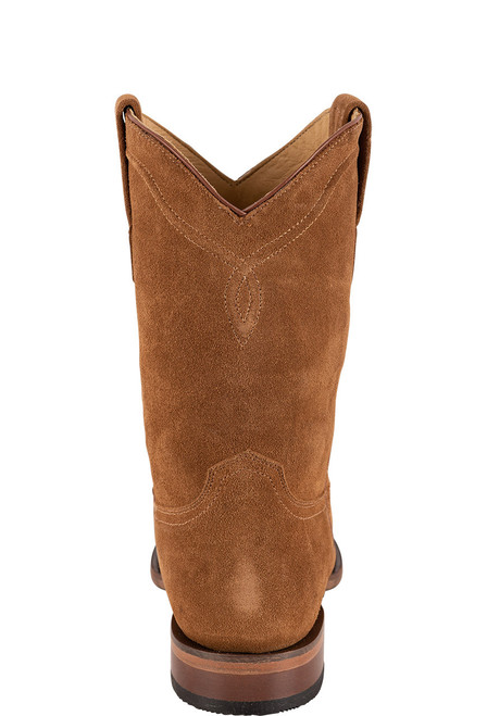 Stetson Men's Dusty Bluff Tan Water Resistant Suede Boots - Back