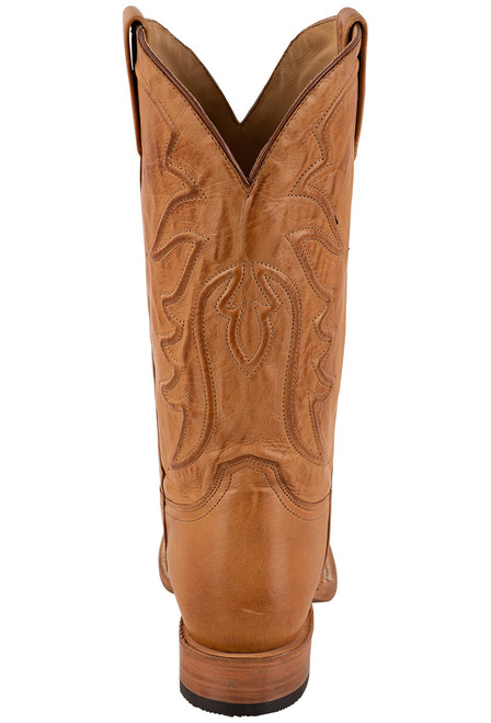 Stetson Men's Ames Burnished Tan Calf Boots - Back