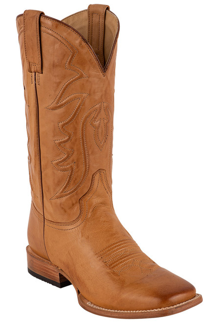 Stetson Men's Ames Burnished Tan Calf Boots