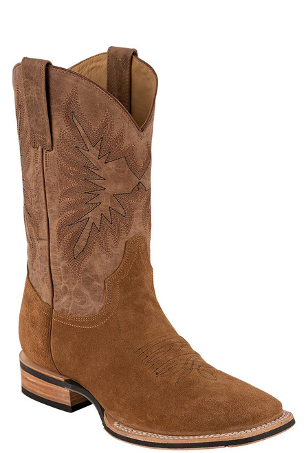 Stetson Men's Bluff Tan Water Resistant Suede Boots