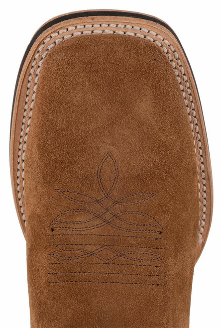 Stetson Men's Bluff Tan Water Resistant Suede Boots - Toe