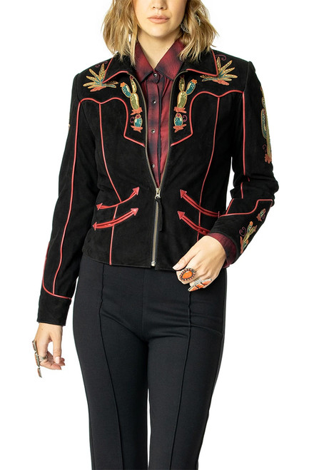 Double D Ranch Back In The Saddle Jacket - Front
