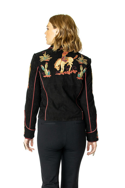 Double D Ranch Back In The Saddle Jacket - Back