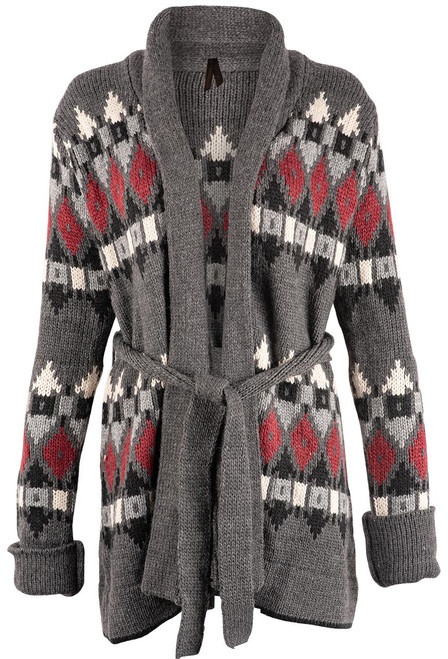 Stetson Women's Aztec Knit Sweater Jacket