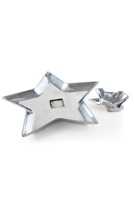 Texas Arthur Court Chip and Dip Tray