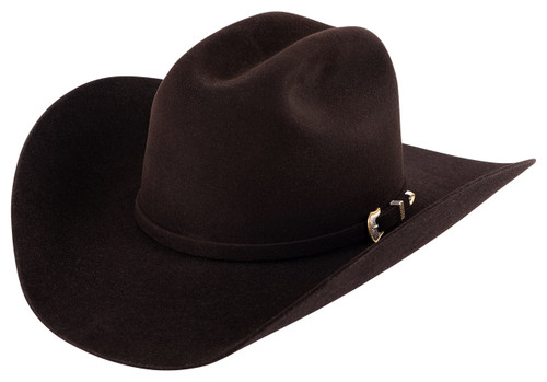 American Hat Co. Black Cherry 10X Felt Hat - Side
