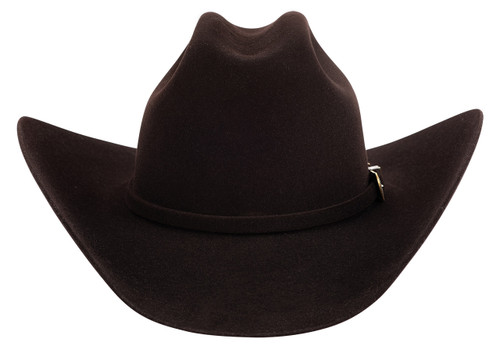 American Hat Co. Black Cherry 10X Felt Hat - Front