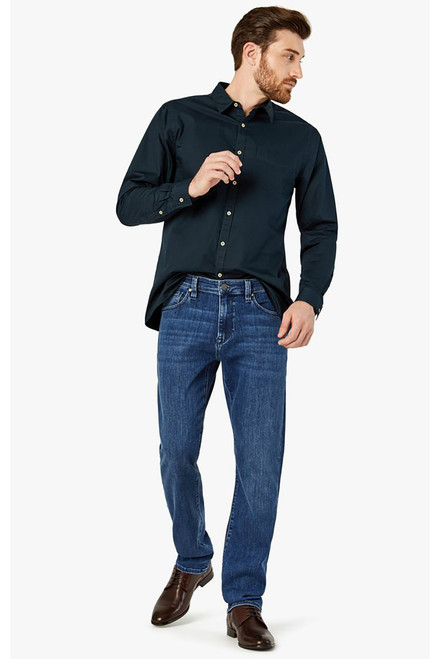 34 Heritage Charisma Jeans - Mid Urban - Front Model