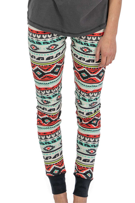 Lazy One Dead Tired Leggings - Front