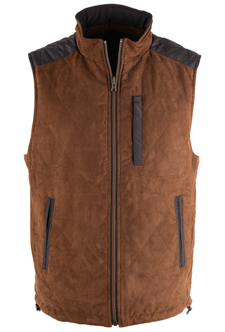 Madison Creek High Point Reversible Vest - Suede Front