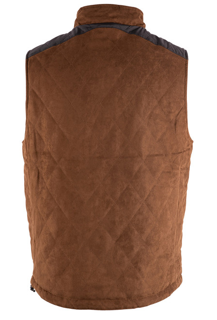 Madison Creek High Point Reversible Vest - Suede Back