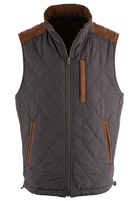 Madison Creek High Point Reversible Vest - Front