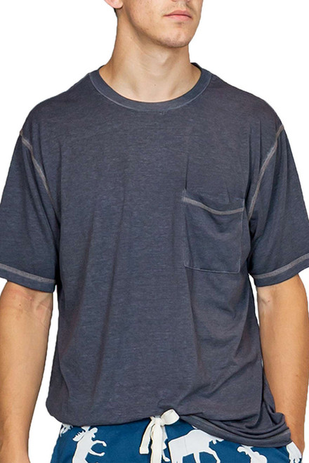 Lazy One Charcoal Grey Pajama Tee