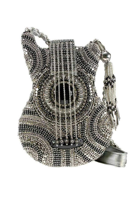 Mary Frances On Tour Guitar Crossbody Purse - Front