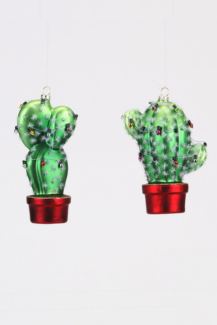 180 Gifts Cactus and Lights Christmas Ornament
