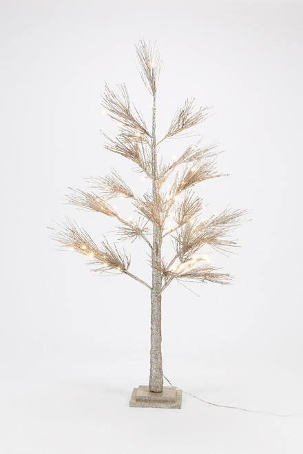 180 Gifts Champagne Glitter Pine Tree
