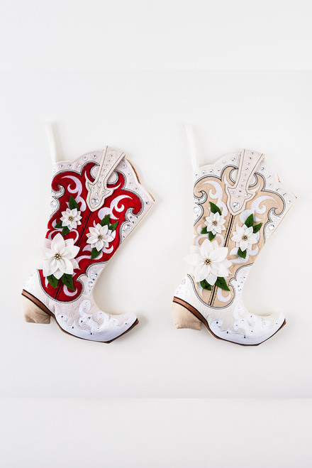 180 Gifts Cowgirl Boot Stocking