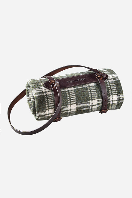 Pendleton Small Leather Blanket Carrier