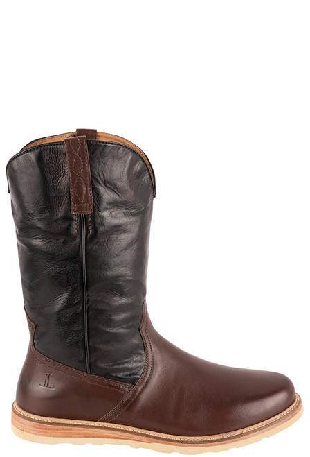 Lucchese Men's Range Baby Buffalo Boots - Side