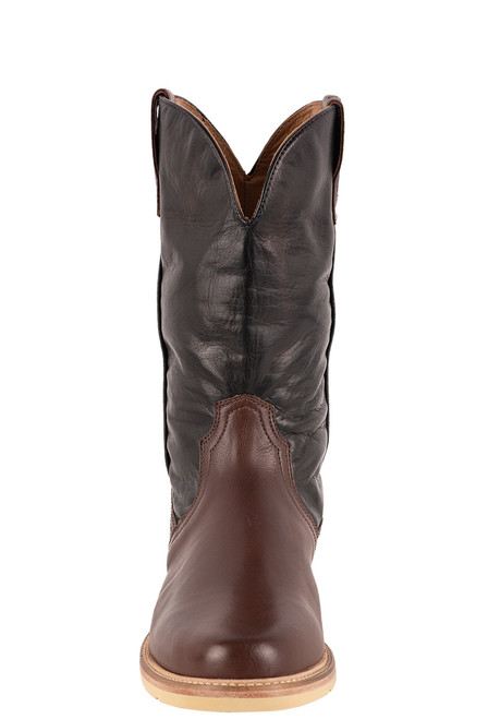 Lucchese Men's Range Baby Buffalo Boots - Front