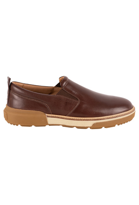 Lucchese Men's After-Ride Slip On Shoe - Side