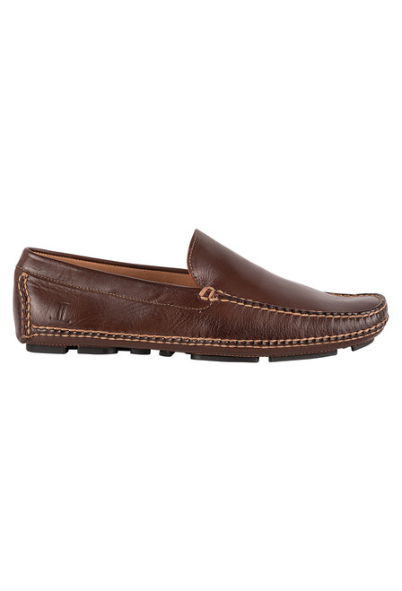 Lucchese Men's After-Ride Moccasin - Side