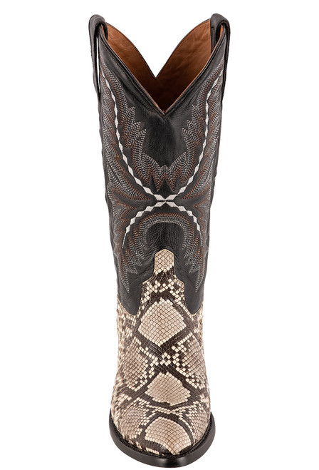 Lucchese Women's Stella Python Boots - Front