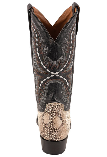 Lucchese Women's Stella Python Boots - Back