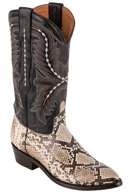 Lucchese Women's Stella Python Boots - Angle