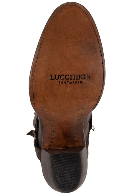 Lucchese Women's Ani Anthracite Cowhide Boots