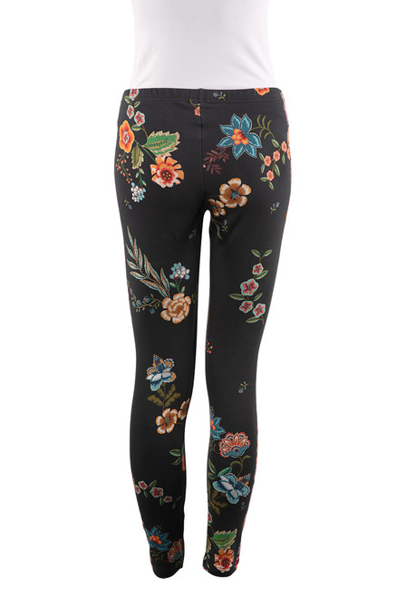 Johnny Was Stretch French Terry Leggings - Back