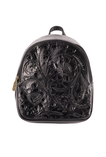 Hide and Chic Small Backpack - Black