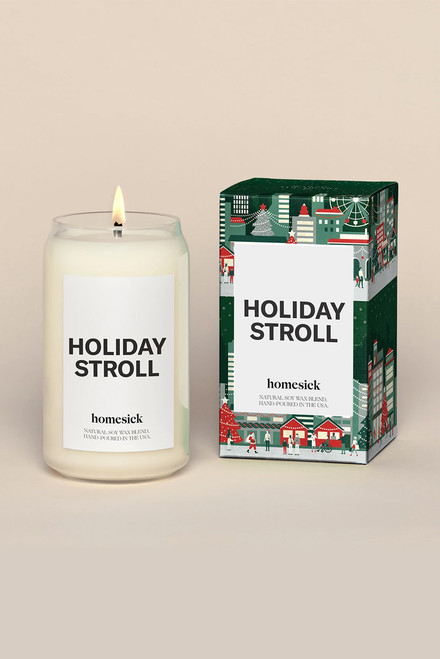 Homesick Holiday Stroll Candle-Front