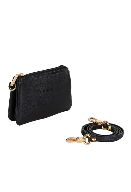 Kelly Tooke Black Lillian Super Mini Crossbody - Back