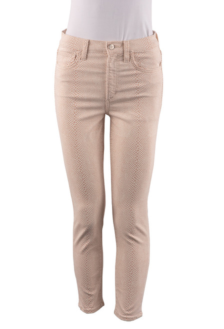 Joe's The Charlie Meadow Snake Jeans - Front