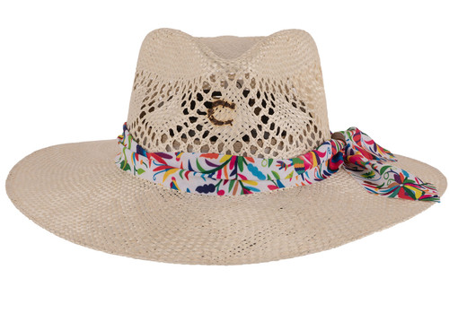 Charlie 1 Horse Spirit Animal Straw Hat - Front