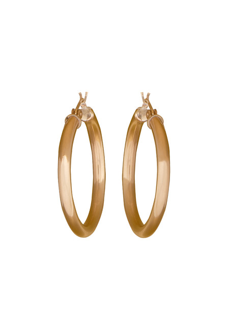Ticklebutton Jewels 14K Gold-Filled Small Hoops - Front