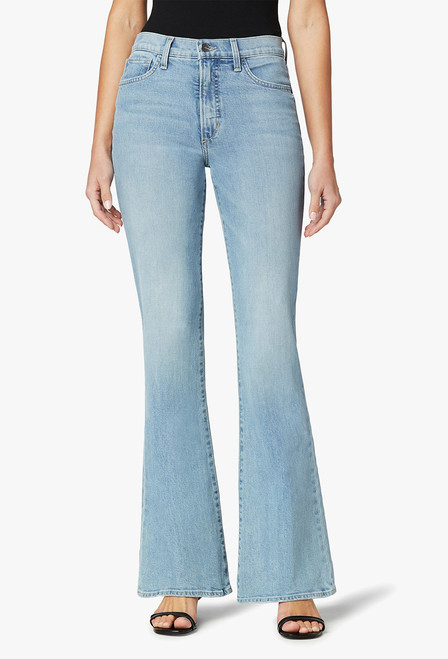 The Molly High-Rise Flare Jeans - Front