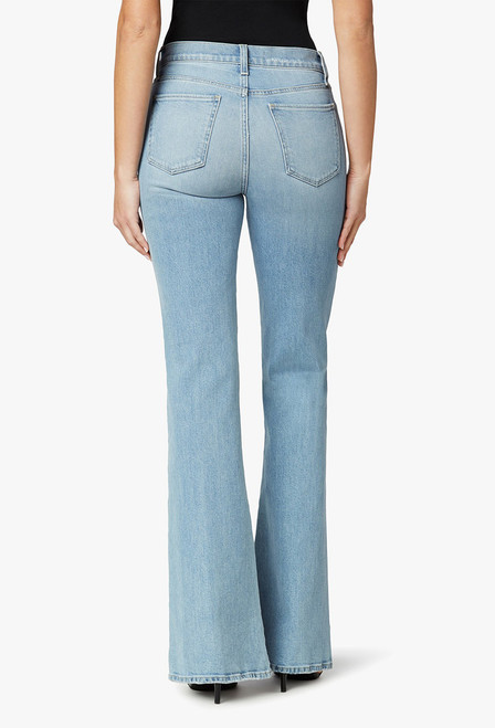 The Molly High-Rise Flare Jeans - Back
