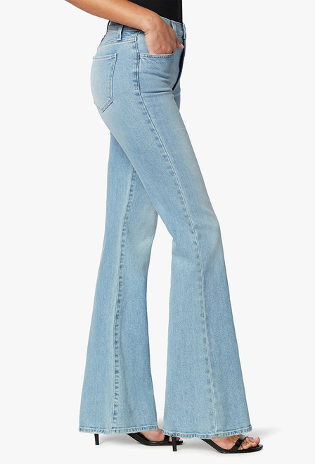 The Molly High-Rise Flare Jeans - Side