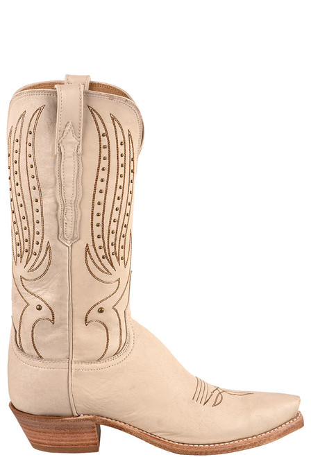 Lucchese Women's 12-inch Camilla Stud Cowboy Boots