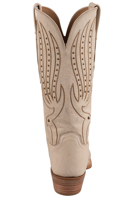"""Lucchese Women's 12"""" Camilla Stud Cowboy Boots - Back"""