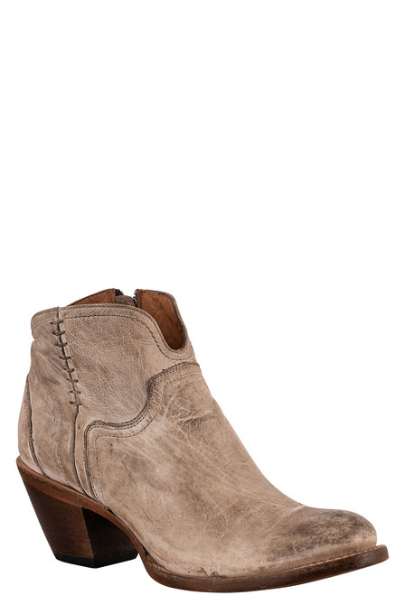 Lucchese Women's Ericka Distressed Bootie - Angle