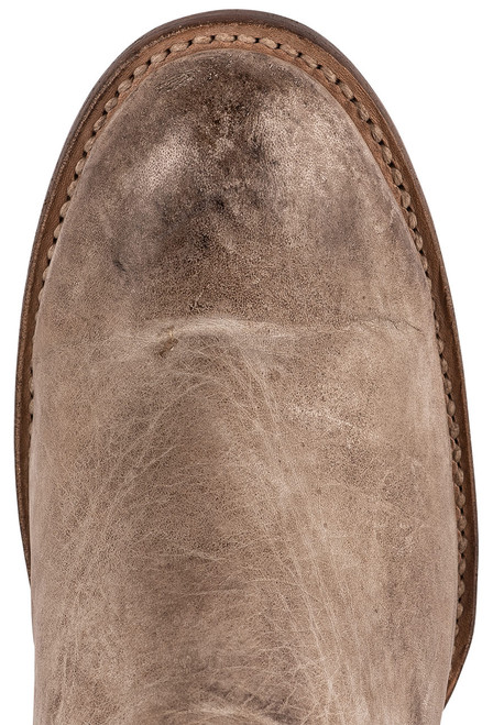 Lucchese Women's Ericka Distressed Bootie - Toe